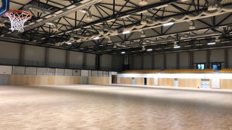 Renovovácia športovej haly