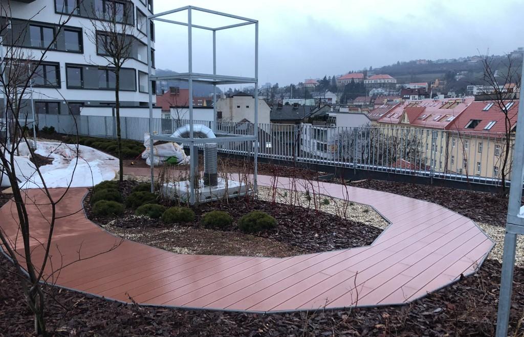 WPC mólo terasa Priemiér Šancová