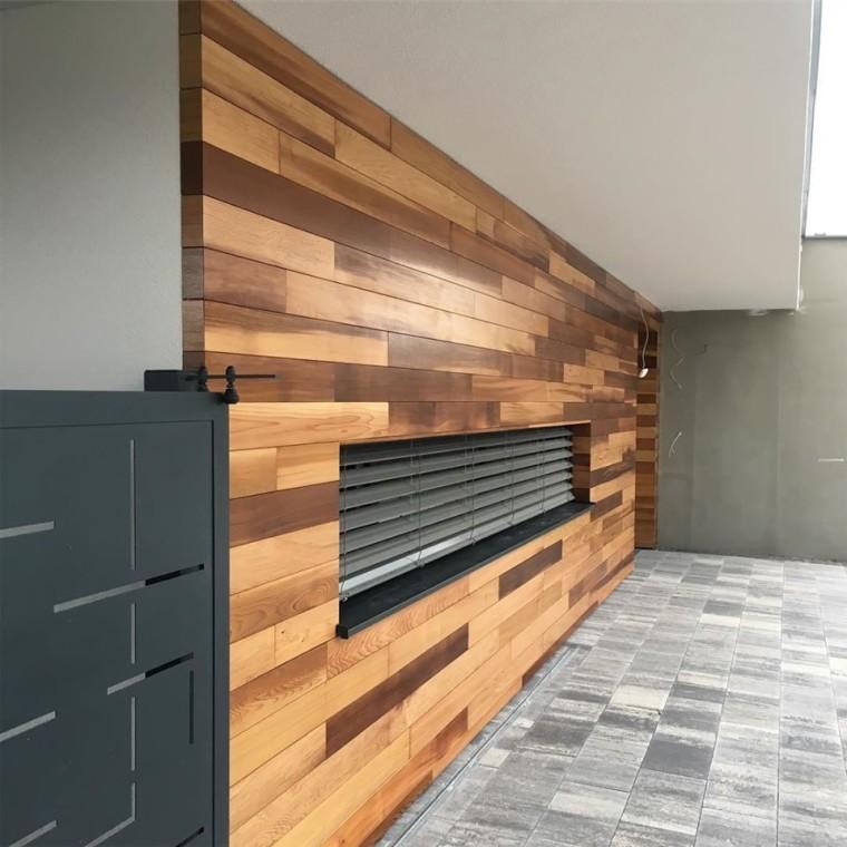 Drevené obklady a fasády