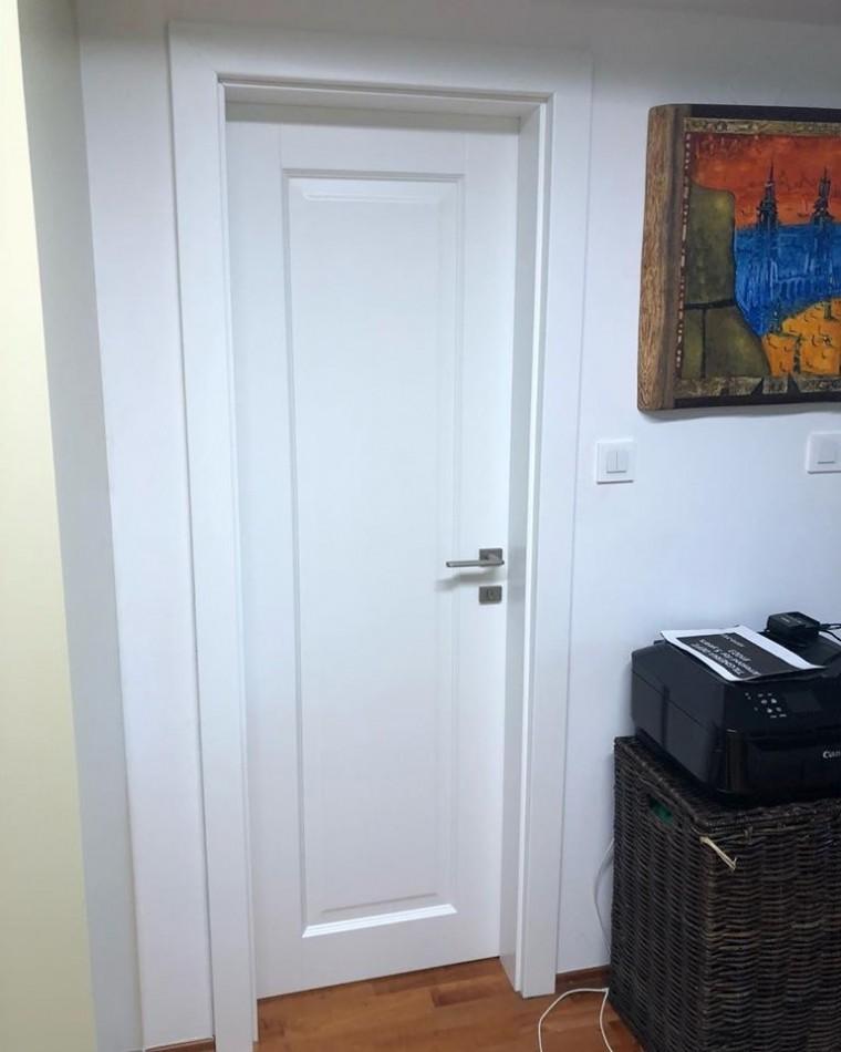 Dvere Pol-Sklone biele Železná studienka